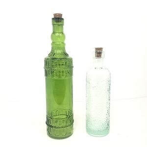 Corked Glass Bottles